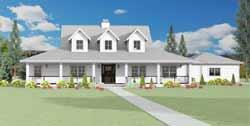 Farm Style House Plans Plan: 105-111