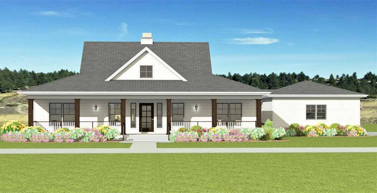 Farm Style Floor Plans Plan: 105-114