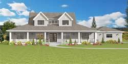 Farm Style House Plans Plan: 105-120