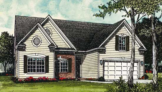 Traditional Style House Plans Plan: 106-120