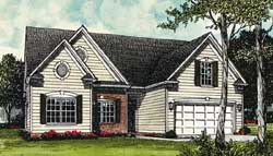 Traditional Style Home Design 106-120