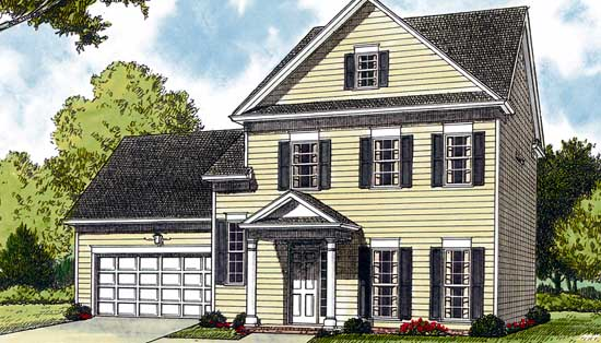 Traditional Style Floor Plans Plan: 106-130