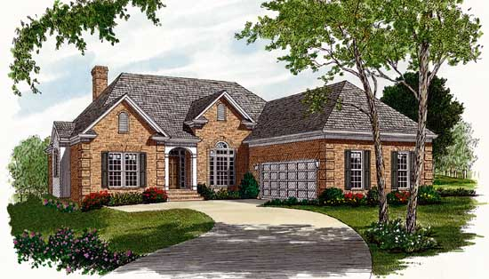 Traditional Style Floor Plans Plan: 106-163