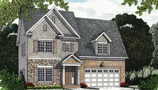 Style House Plans 106-227