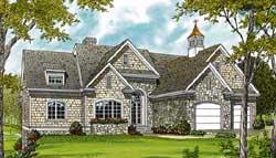 Cottage Style Floor Plans Plan: 106-241