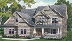 Craftsman Style House Plans Plan: 106-250