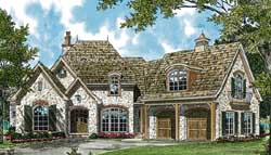 European Style House Plans 106-298