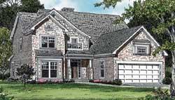 Craftsman Style House Plans Plan: 106-368