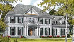 Southern Style Floor Plans Plan: 106-401