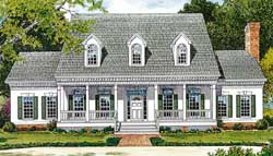 Southern Style Floor Plans Plan: 106-413