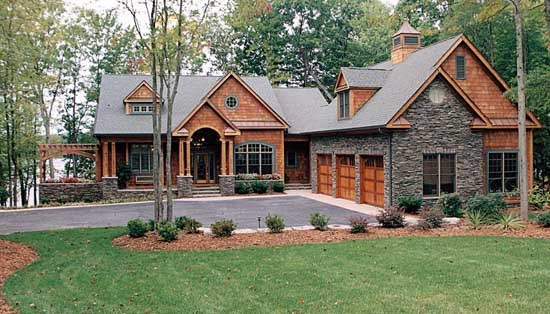 Craftsman Style Home Design 106-440