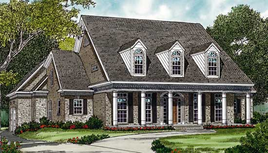 Country Style House Plans Plan: 106-443