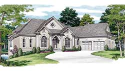 Traditional Style House Plans Plan: 106-470