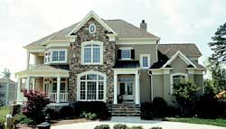 Southern-Colonial Style House Plans Plan: 106-476