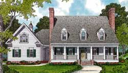 Country Style Floor Plans Plan: 106-499