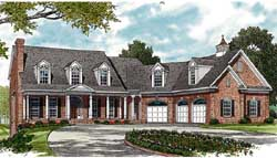 Southern Style House Plans Plan: 106-501