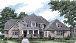 Cottage Style Floor Plans Plan: 106-505