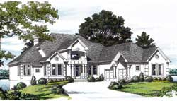 Traditional Style Floor Plans Plan: 106-517