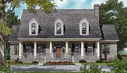 Country Style House Plans Plan: 106-518