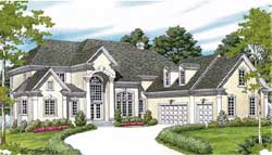 Traditional Style House Plans Plan: 106-519