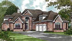 Traditional Style House Plans Plan: 106-535