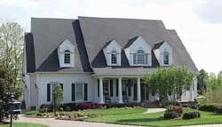 Colonial Style Home Design Plan: 106-536