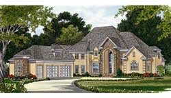 Traditional Style Floor Plans Plan: 106-552