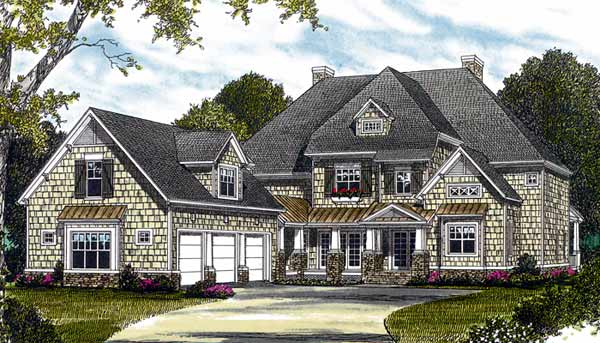Cottage Style House Plans Plan: 106-568