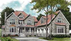 Shingle Style Floor Plans Plan: 106-569