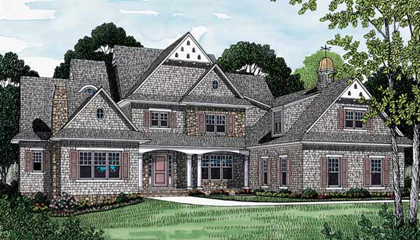 Cottage Style House Plans Plan: 106-574