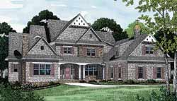 Cottage Style Floor Plans 106-574