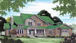 Craftsman Style House Plans Plan: 106-581