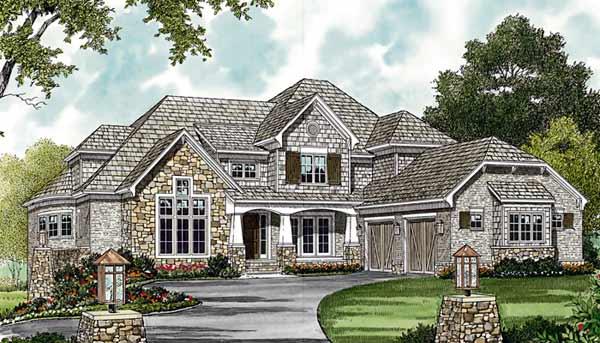 Craftsman Style House Plans Plan: 106-597