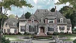 European Style Floor Plans Plan: 106-600