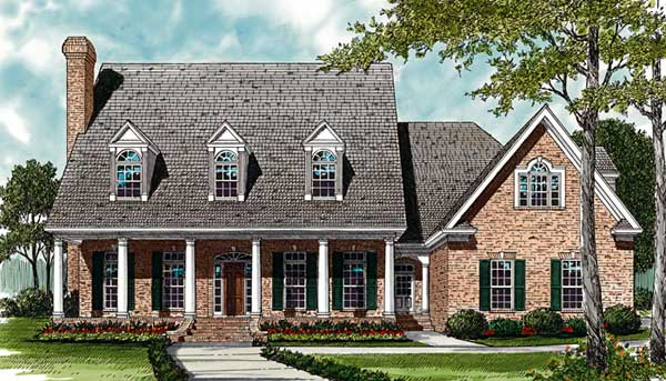 Southern Style House Plans Plan: 106-606
