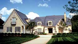European Style House Plans Plan: 106-609