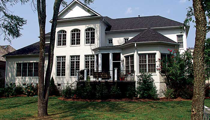 Southern-colonial Style Floor Plans