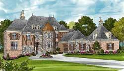 European Style House Plans Plan: 106-630