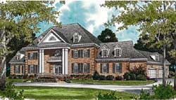 Southern-Colonial Style House Plans Plan: 106-631
