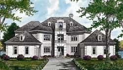 Mediterranean Style House Plans Plan: 106-633