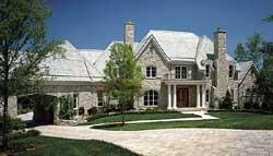 European Style Home Design Plan: 106-644