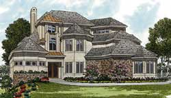 Traditional Style Floor Plans Plan: 106-649