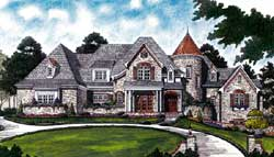 European Style House Plans 106-654