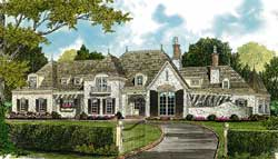 European Style Floor Plans Plan: 106-660