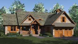 Craftsman Style Floor Plans Plan: 106-689