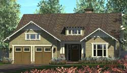 Craftsman Style Floor Plans Plan: 106-697