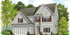 Traditional Style Home Design Plan: 106-700
