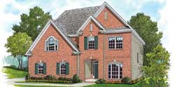 Traditional Style Home Design Plan: 106-702