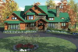 Craftsman Style Floor Plans Plan: 106-736