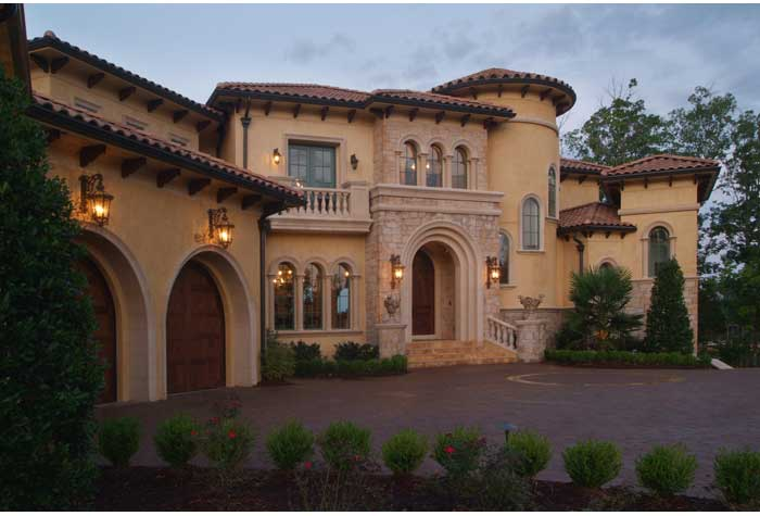 Tuscan Style Home Design